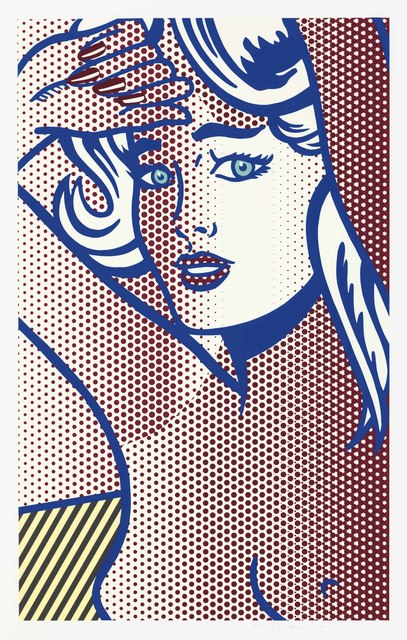 Roy Lichtenstein, 'Nude with Blue Hair, State I, from Nudes', 1994, Christie's
