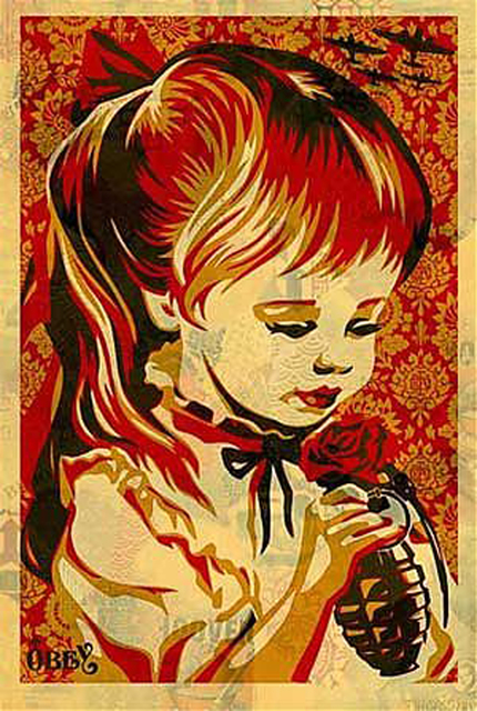 Shepard Fairey, 'War by Numbers', 2008, EHC Fine Art Gallery Auction