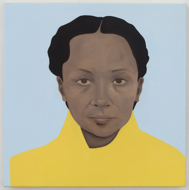, 'Sunstrum (After Pamela Phatsimo Sunstrum). Botswanan-born artist and creative researcher. She is also the artist's former studio partner and long-time collaborator.,' 2016, Mariane Ibrahim Gallery