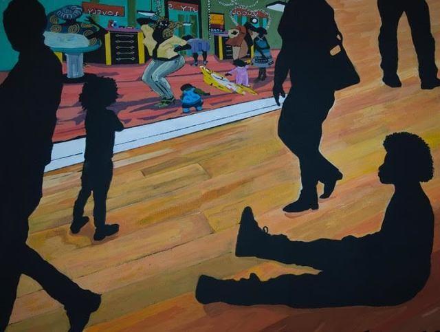 , 'The Museum Goers,' 2017, Ro2 Art