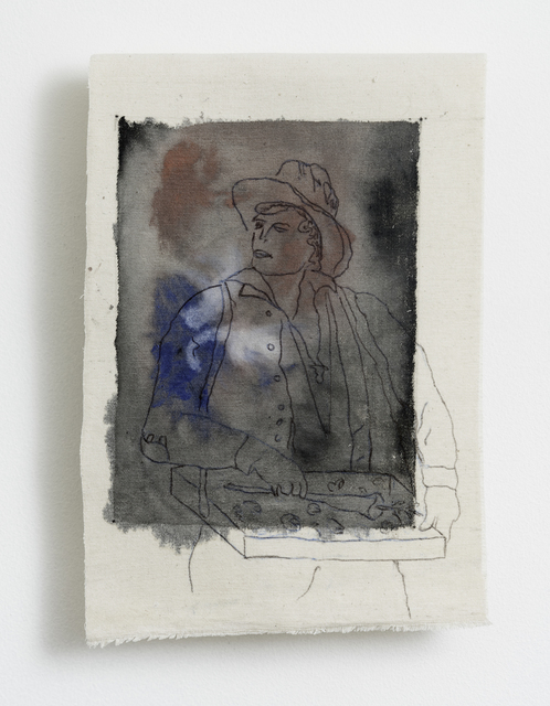 , 'Vendedor de Caramelos,' 2016, Pasto