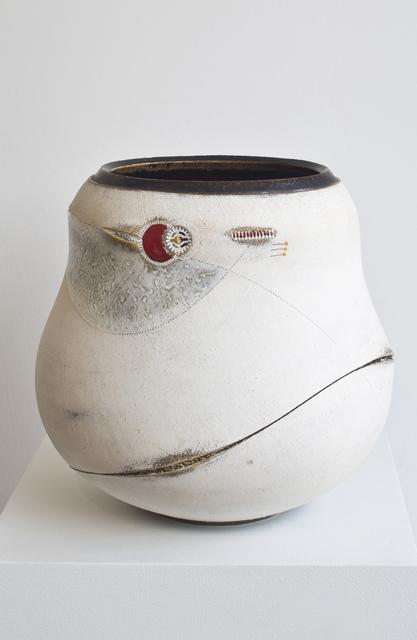 , 'Scarified large Udu vase,' 2009, 50 Golborne
