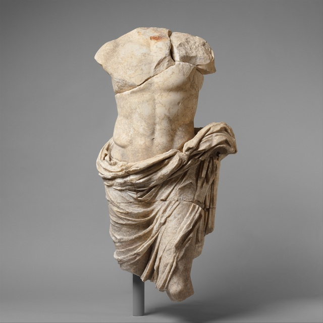 Unknown Roman, 'Marble statue of a member of the imperial family', 27 B.C.–A.D. 68, The Metropolitan Museum of Art