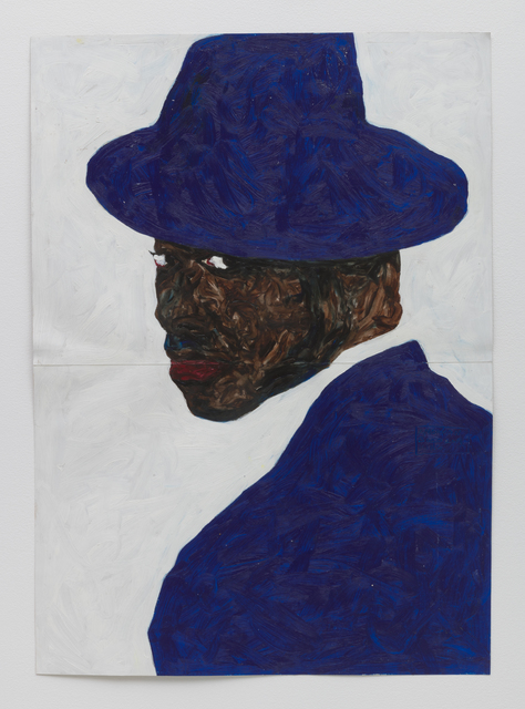 , 'Blue Hat Blue Jacket,' 2019, Roberts Projects