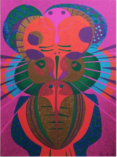 Pedro Coronel, 'Los buhos', ca. 1970, Print, Litograph, Art Konnection