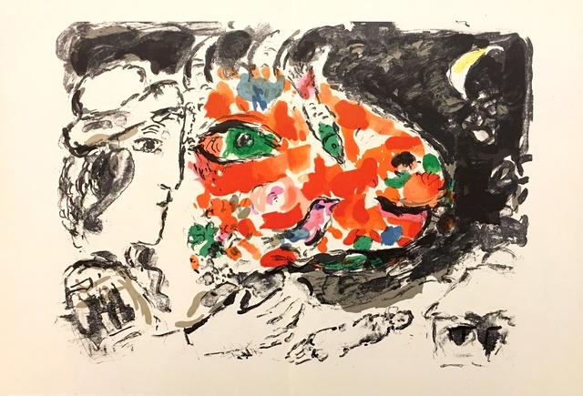 Marc Chagall, 'From 'Derrière le Miroir - Chagall'', 1972, Eames Fine Art