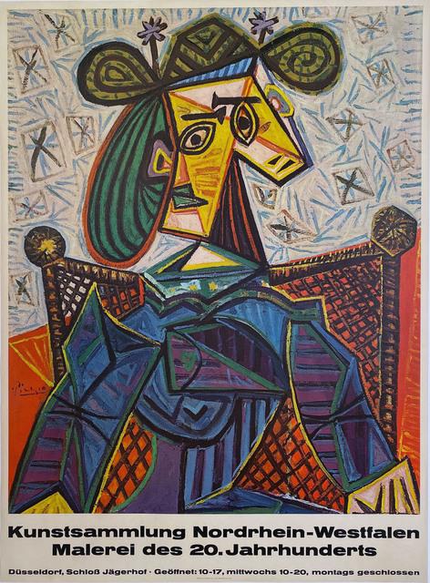 Pablo Picasso, 'Kunstsammlung Nordrhein-Westfalen, Malerei des 20. Jahrhunderts', 1955, David Lawrence Gallery