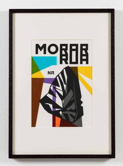 , 'O nome do medo (recorte): Morar na rua / The Name of Fear (cut-out): Live on the Street,' 2017, Stephen Friedman Gallery
