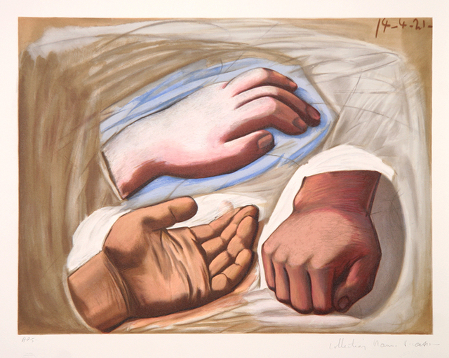 Pablo Picasso, 'Etude de Main ', 1973, RoGallery
