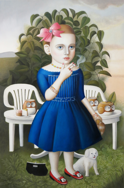 , 'Girl with Tea Set,' , Front Room Gallery