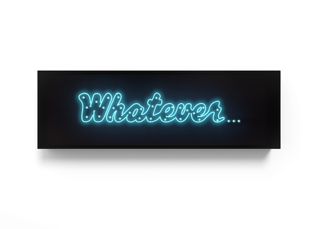 David Drebin, 'Whatever...', 2017, Other, Neon Light Installation, Contessa Gallery