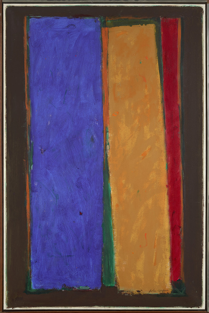 , 'Dark Border (V-71),' 1971, Berry Campbell Gallery