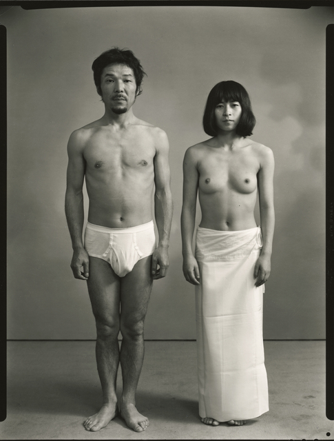 , 'From the left: Masahisa and actor K,' 1972, Michael Hoppen Gallery