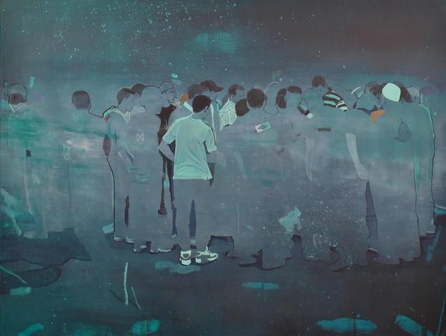 Nabil El Makhloufi, 'La Foule', 2018, L'Atelier 21