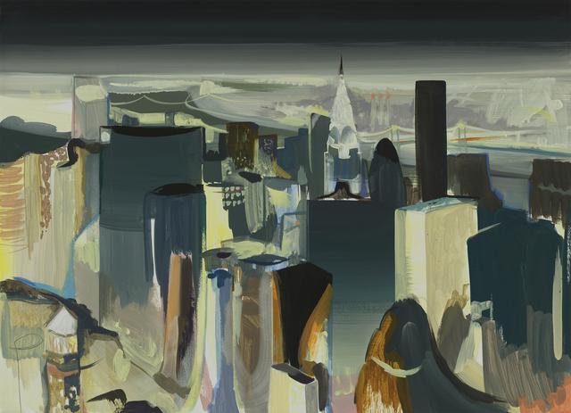, 'Manhattan Nightscape ,' 2017, DOOSAN Gallery
