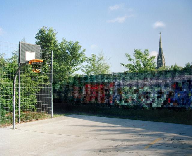 , 'Basketball Court, Park am Nordbahnhof,' 2012-2017, Pictura Gallery
