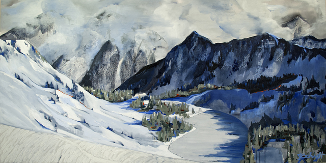 Jena Schmidt, 'Between the Mountains', 2017, A Gallery