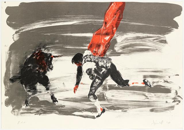 , 'Untitled (Bullfight 2),' 2009, Nikola Rukaj Gallery