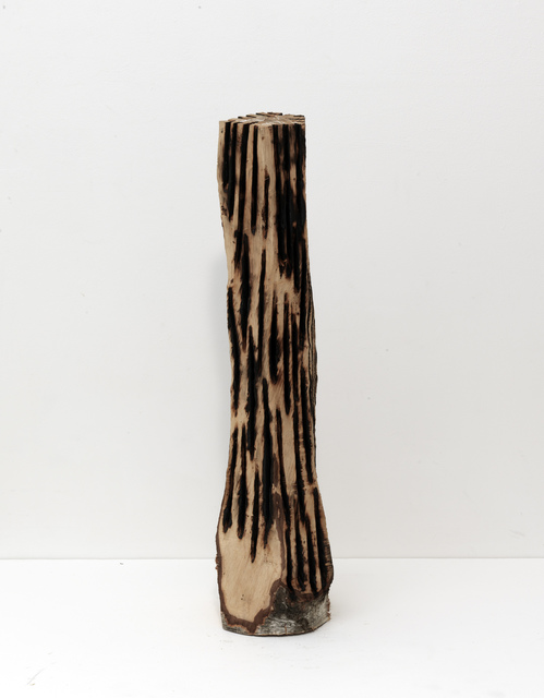 David Nash, 'Branded Column', 2012, Annely Juda Fine Art