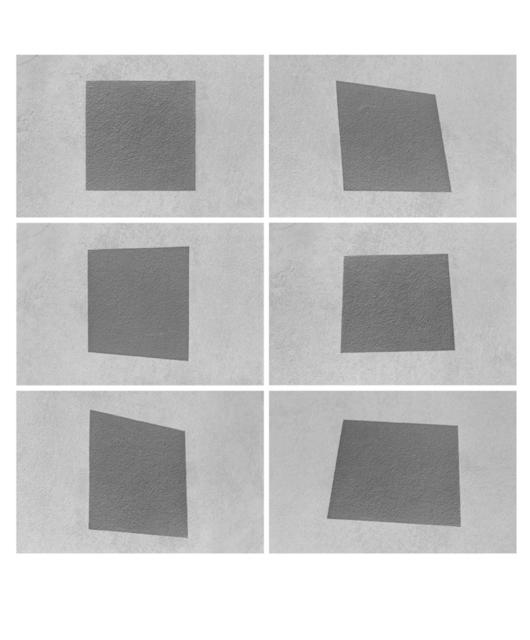 , 'Alterazione del quadrato, dalla serie Geometria non euclidea, Venezia 1964 - Bergamo 2004,' 2004, MATÈRIA