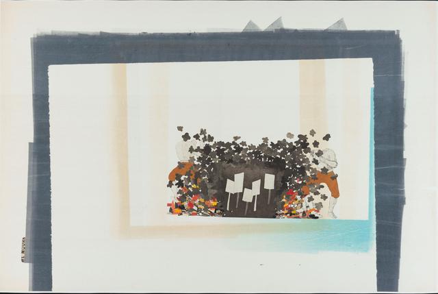 , 'NP-C017_newsprint10,' 2016, Bruno David Gallery & Bruno David Projects