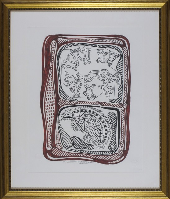 Elizabeth Durack, 'Piggi-Billa Porcupine', 1999, Wentworth Galleries