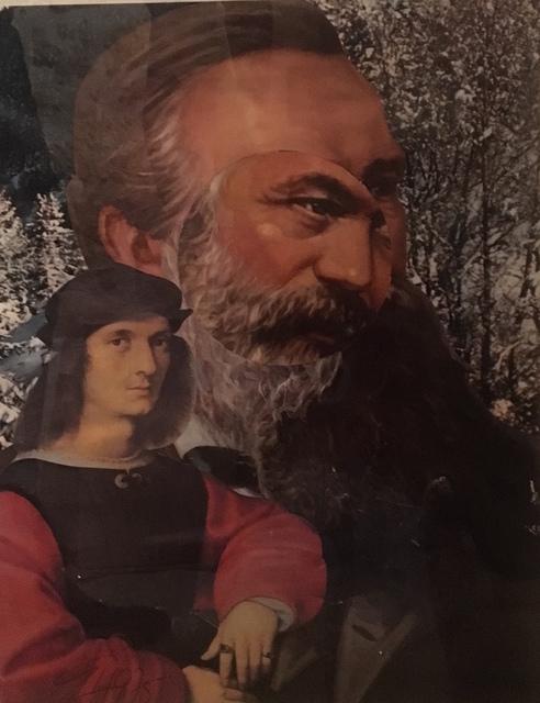 , 'collage,' 1975, Galerie du Griffon