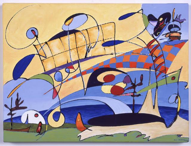 , 'Edge of the World,' 2001, Joshua Tree Art Gallery