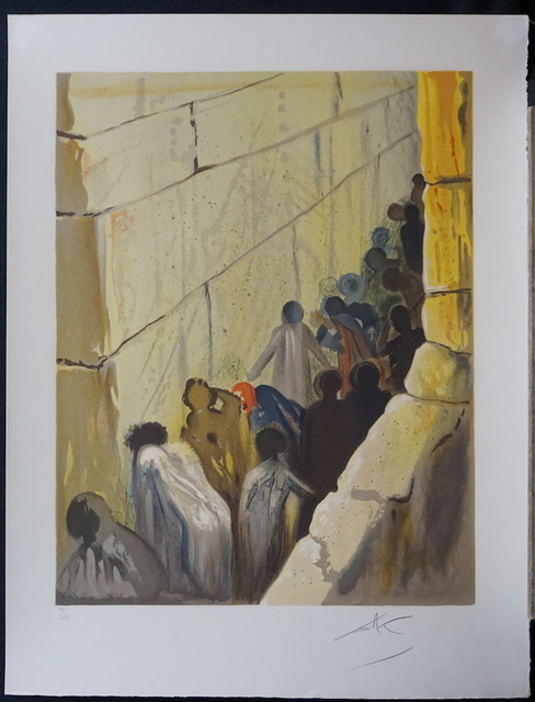 Salvador Dalí, 'Aliyah The Wailing Wall', 1968, Fine Art Acquisitions