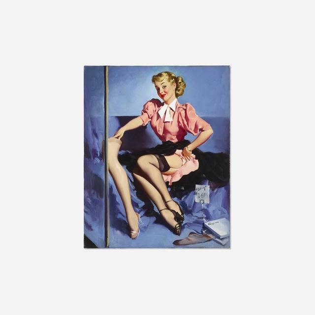 Gil Elvgren, 'A Neat Display', 1953, Rago/Wright