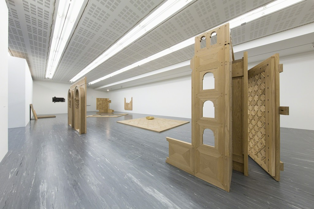 Exhibition view, Plamen Dejanoff, Foundation Requirements, 21er Haus