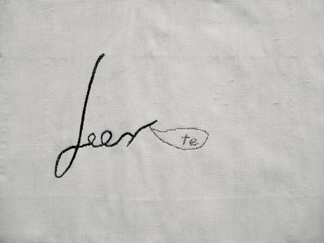 , 'Leerte,' 2008, WALDEN
