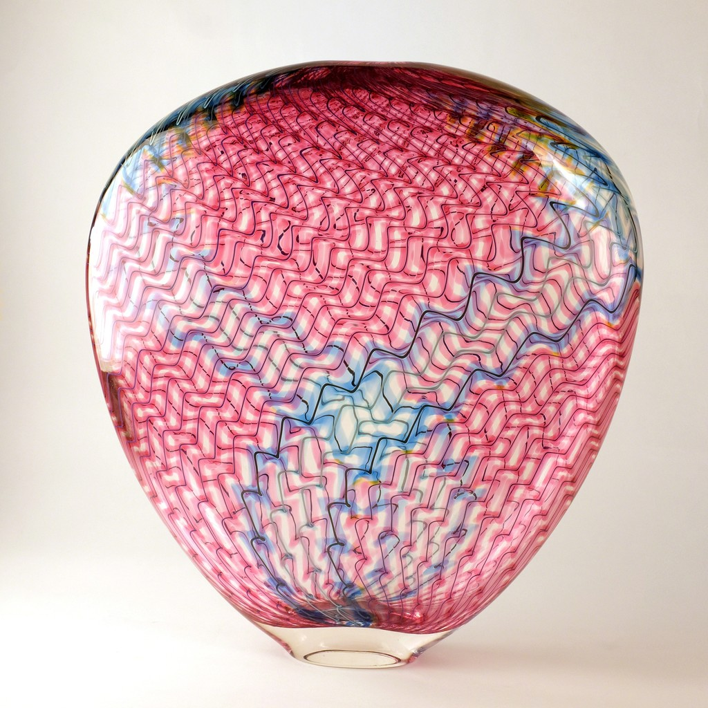 """Lightning Vase"" by Dan Friday