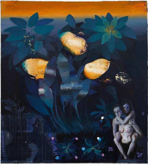 Rayk Goetze, 'Vertreibung', 2021, Painting, Oil on canvas, Josef Filipp Galerie