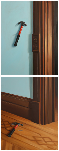 , 'Before and After Painting No.3,' 2014, Lazinc