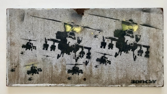"""Banksy, '""""Happy Choppers"""" aka """"Have a nice day""""', ca. 2003, MultiplesInc Projects"""
