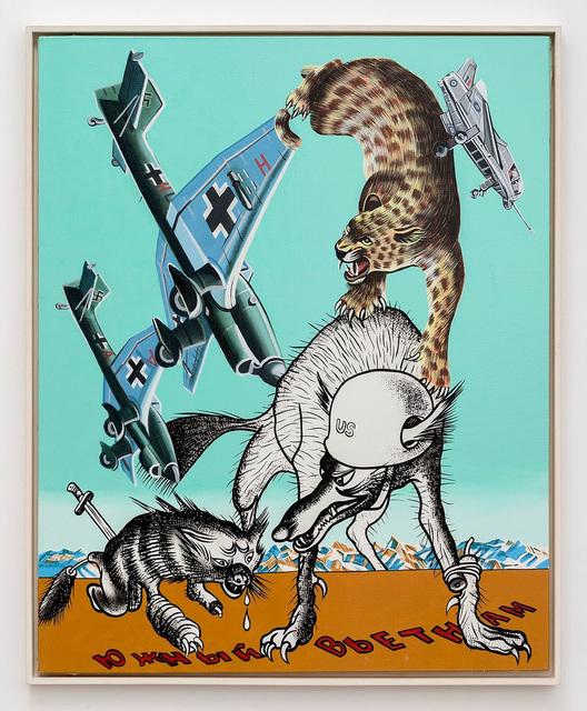 , 'Stukas,' 1974, Perrotin