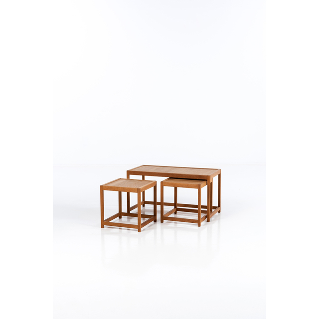 Kurt Østervig, 'Set of three nesting tables', vers 1960, PIASA