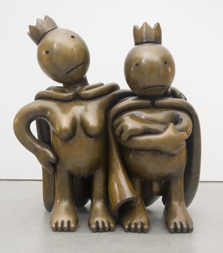 Tom Otterness, 'Free Thinkers (large)', 2007, Marlborough Madrid & Barcelona