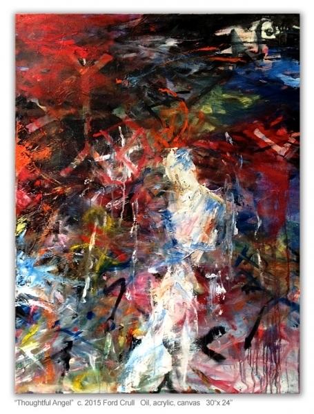 , 'Thoughtful Angel,' 2015, Cross Contemporary Art