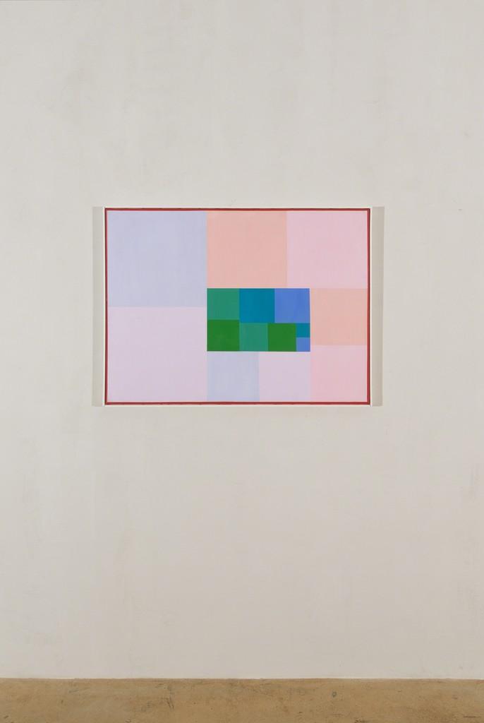 Max Bill, kern und strahlung, 1958-62, oil on canvas, 71 x 93 cm