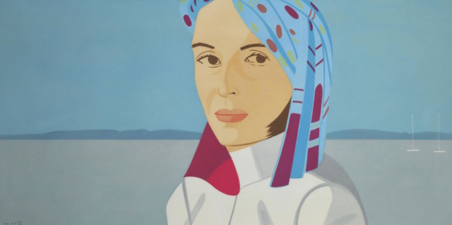 Alex Katz, 'Ada in Blue Hat', 2004, Gregg Shienbaum Fine Art