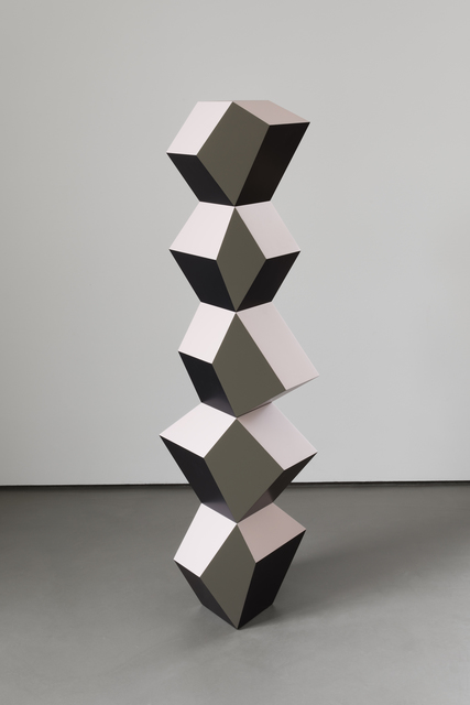 , 'Five Form Stack: Pink Moss,' 2019, Simon Lee Gallery