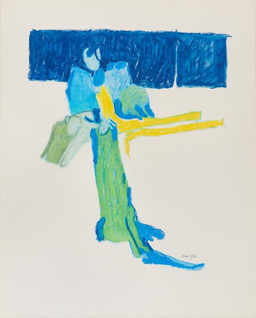 , 'Untitled II (blue),' 1976, Susan Eley Fine Art