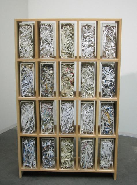 , 'Biblioteca 01,' 2008, Umberto Di Marino