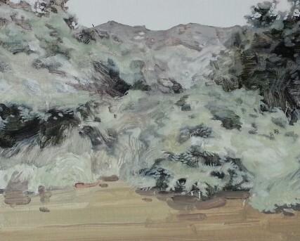 , 'Tropical Landscape,' 2014, Gallery Skape