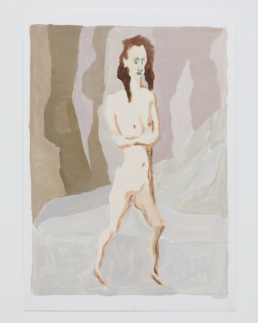 Hiro Kunikawa, 'Portraits of People in the Distance', 2016, Drawing, Collage or other Work on Paper, Oil on paper, Tomio Koyama Gallery
