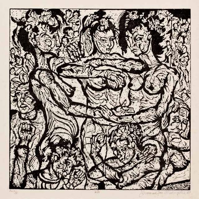 , 'Nus,' 1987, Galeria Mezanino