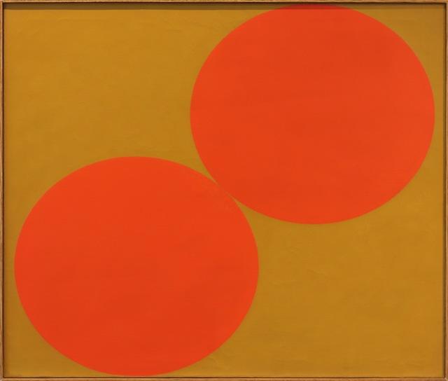 Oli Sihvonen, 'Duo, Red and Ochre', 1962, Aaron Galleries