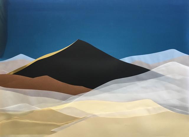 , 'Black Dune,' 2017, Chelouche Gallery